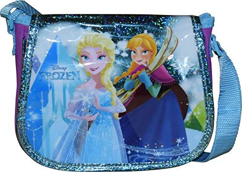 Disney Frozen Elsa & Anna Girl's Crossbody Shoulder Purse