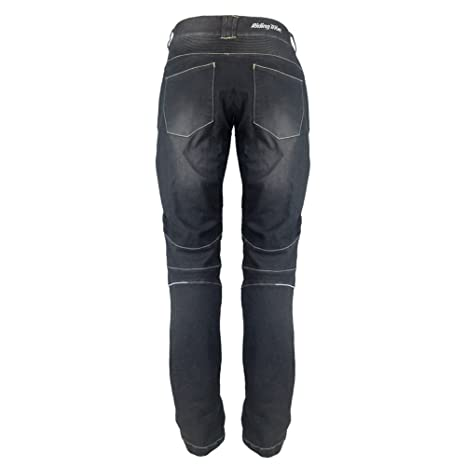Riding Tribe Motorcycle Pant Biker Jeans Motorbike Racing Trousers with 4Pcs Removable Protective Pads