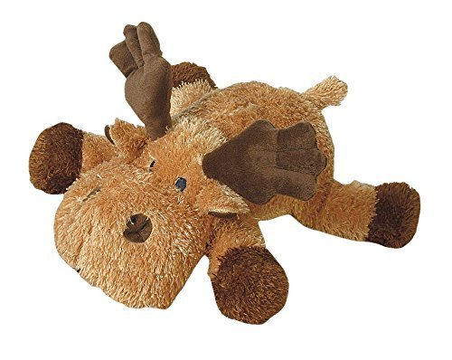 Pet Lou MOO-14 Colossal Dog Chew Toy, 14-Inch Moose