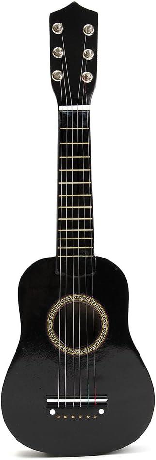TOYMYTOY 21 pulgadas Guitarra acustica Pequeña guitarra de madera ...