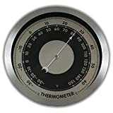 """Ambient Weather WS-152T 6"""" Contemporary Thermometer"""