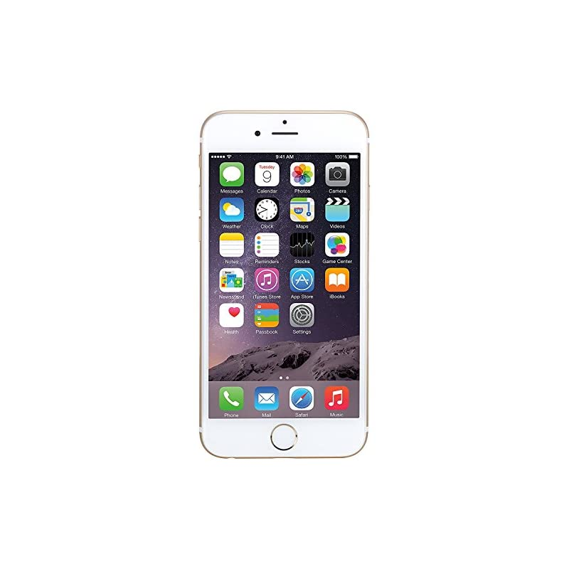 """Apple iPhone 6 64GB Gold - AT&T (4.7"""" Re"""