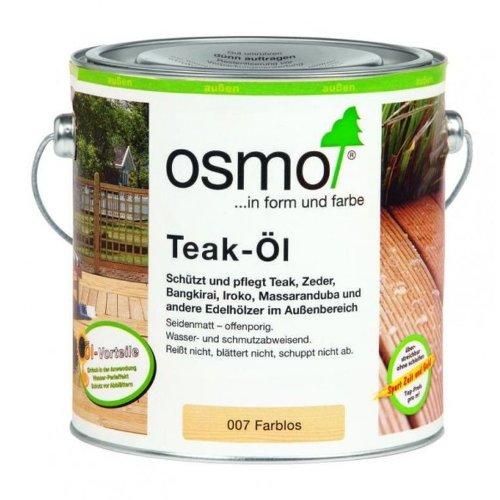 Osmo teak-olio trasparente 2, 5 litri