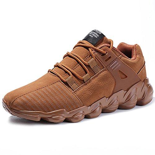 72446be184fa3 Course Air Chaussures Marche camel Unisexe Trainers Respirant Chaussures  Athlétique de Femmes Multi Sneakers pour Mesh ...