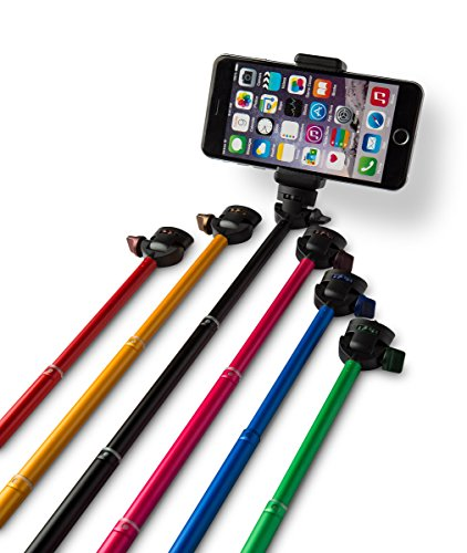 from usa xshot deluxe selfie stick kit black color with bluetooth remote for iphone and. Black Bedroom Furniture Sets. Home Design Ideas