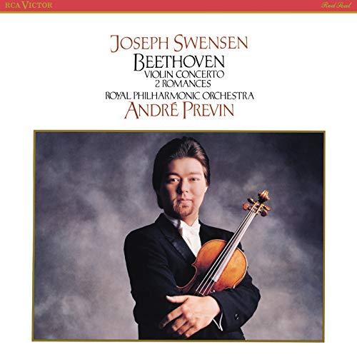 - Beethoven: Violin Concerto in D Major, Op. 61, Romances for Violin and Orchestra No. 1 in G Major, Op. 40 & No. 2 in F Major, Op. 50