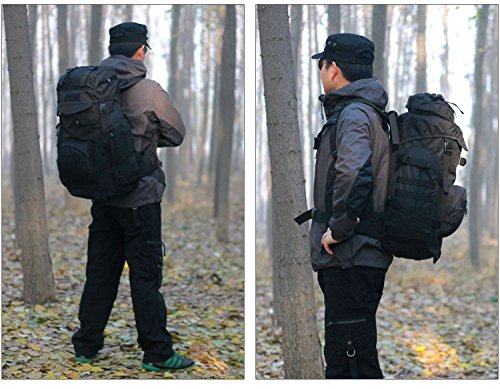 9c06c396c0bc X-Freedom 60L Tactical Military Large Daypack Hunting Backpack Gear Rucksack  Waterproof Bag Sport Outdoor For Camping Trekking