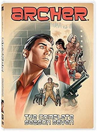 Amazoncom Archer Season 7 H Jon Benjamin Chris Parnell
