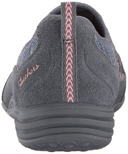 Skechers Unity-Eternal Bliss, Formateurs Femme Gris (Charcoal/pink)