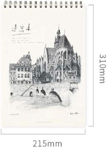 GCX Notebook Einfache verdicken Exquisite Study Notebook notiz Tagebuch Einfachheit Color B Size 21 5 31cm