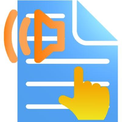 Tap2Speak Reader