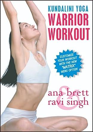 Warrior Workout With Ravi Singh & Ana Brett Reino Unido DVD ...