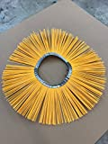 M-B Tough Brush - 32'' x 10'' Convoluted Poly Wafers. Replacement brushes for various sweeping brooms and machines.