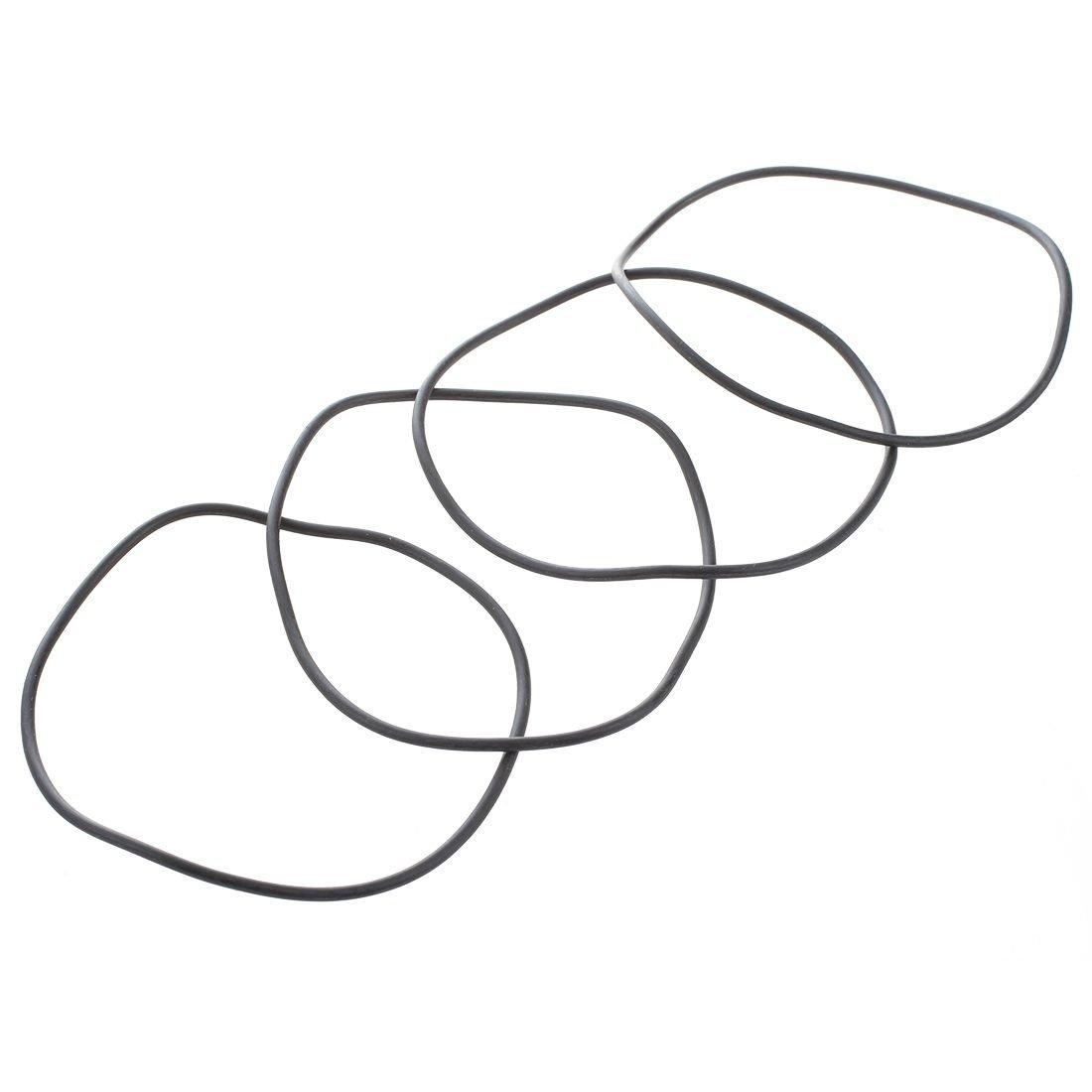 SODIAL 10 pieces10 x 74mm joint torique en caoutchouc elastique Industriel R