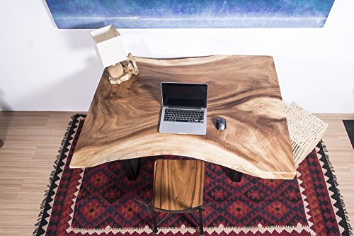 Live Edge Slab Table | Natural Edge Wood Dining Table | Legs Included | Lodge Counter Table