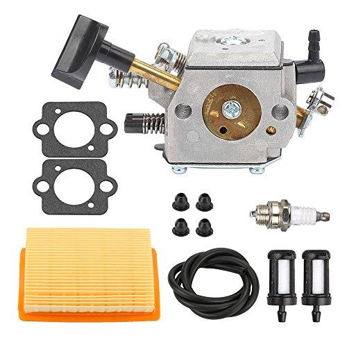 Mckin HD-4A HD-4B HD-13B Carburetor with Air Filter Tune Up Kit for STIHL SR320 SR340 SR380 SR400 SR420 BR320 BR340 BR380 BR400 BR420 Backpack Blower by Mckin