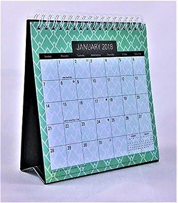 2018 Standing Desk Calendar (Green)