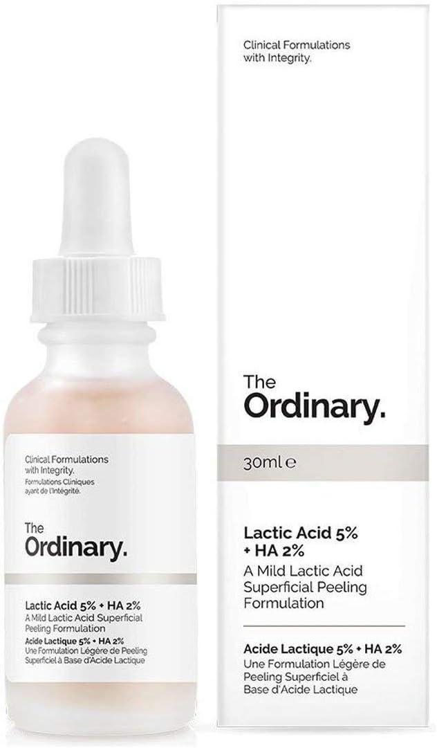 Ácido láctico 5% +HA 2%, marca The Ordinary (30ml)
