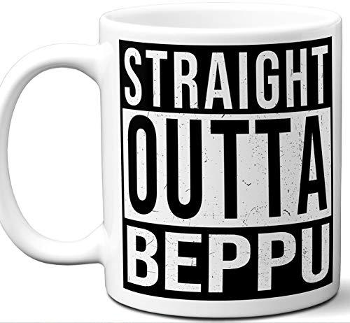 (Beppu Japan Souvenir Gift Mug. Unique