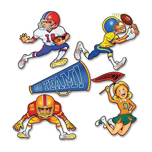 Pkgd Football Cutouts   (5/Pkg)]()