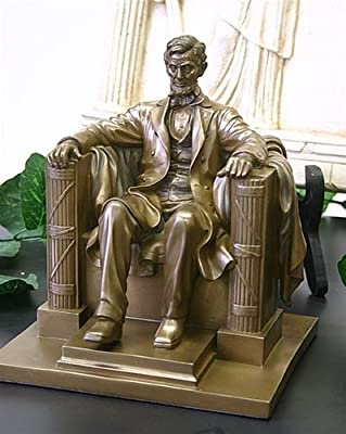 PTC 8.13 Inch Abraham Lincoln Washington DC Memorial Statue Figurine