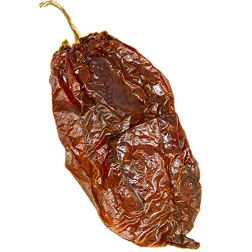 Three Squirrels, Dried Whole Ghost Chilies Peppers, Ghost Peppers, More than 1 million SHUs, Hottest Chili, Approx. 60 Pods, 2 oz. (Fresh Pepper Ghost)