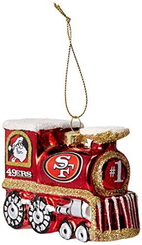 49ers Christmas Ornaments (NFL San Francisco 49ers Train)
