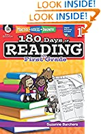 #8: 180 Days of Reading for First Grade (Ages 5-7) Easy-to-Use First Grade Workbook to Improve Reading Comprehension Quickly, Fun Daily Phonics Practice for 1st Grade Reading (180 Days of Practice)