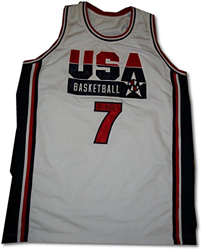 Larry Bird Signed Autographed USA Olympic Jersey From Private Signing W/ - Shop Usa Online