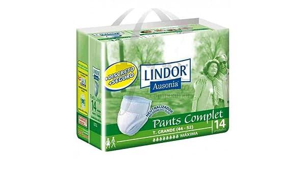 LINDOR PANTS COMPLET T GRANDE 14 UNID: Amazon.es: Salud y cuidado personal