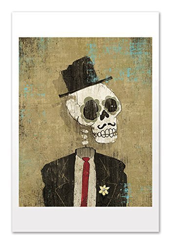 Dia de los Muertos | Calavera, Groom | High Quality Art Poster Print