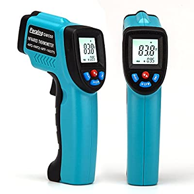 Peralng Laser Infrared Thermometer -58?-1022? Non-Contact IR Temperature Gun Accurate LCD Digital Display Backlight