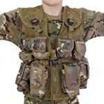 Kids Army All Terrain Camo Combat Vest - Fits Ages 5-13 Yrs