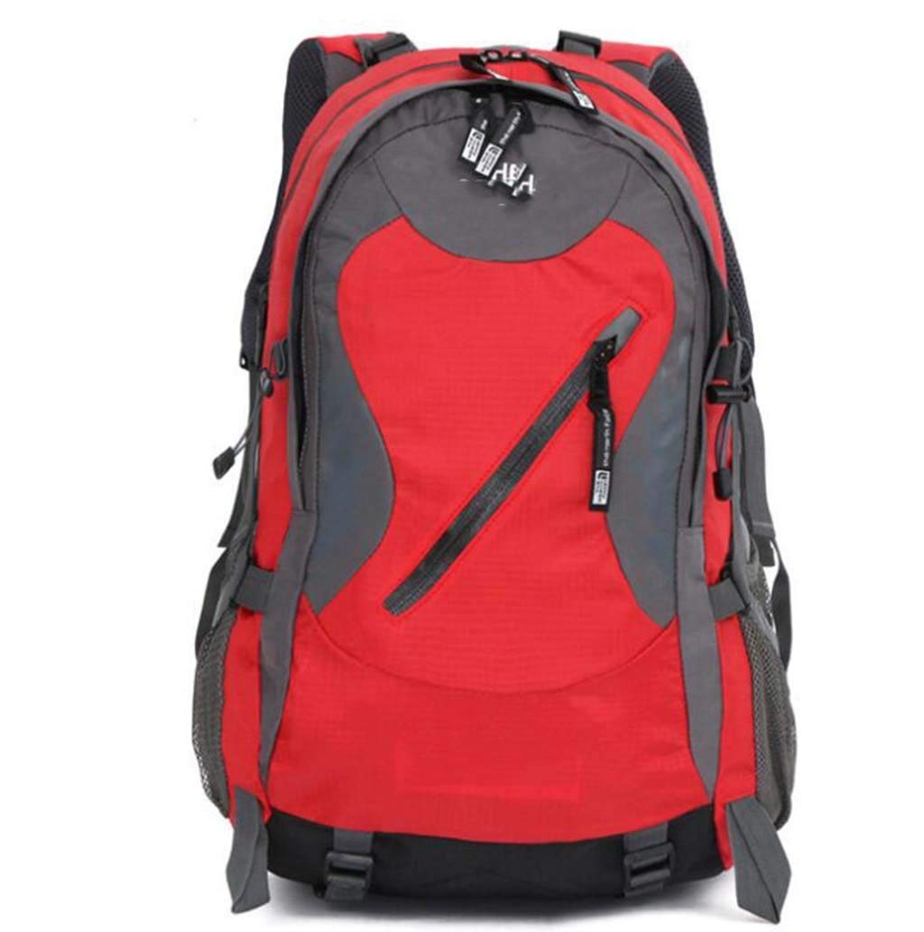 40L Large-Capacity Outdoor Sports Backpack Color : Red CHBAOZI Hiking Backpack Multi-Color Optional 331748cm Mountaineering Bag Camping Hiking Waterproof wear-Resistant Shoulder Bag