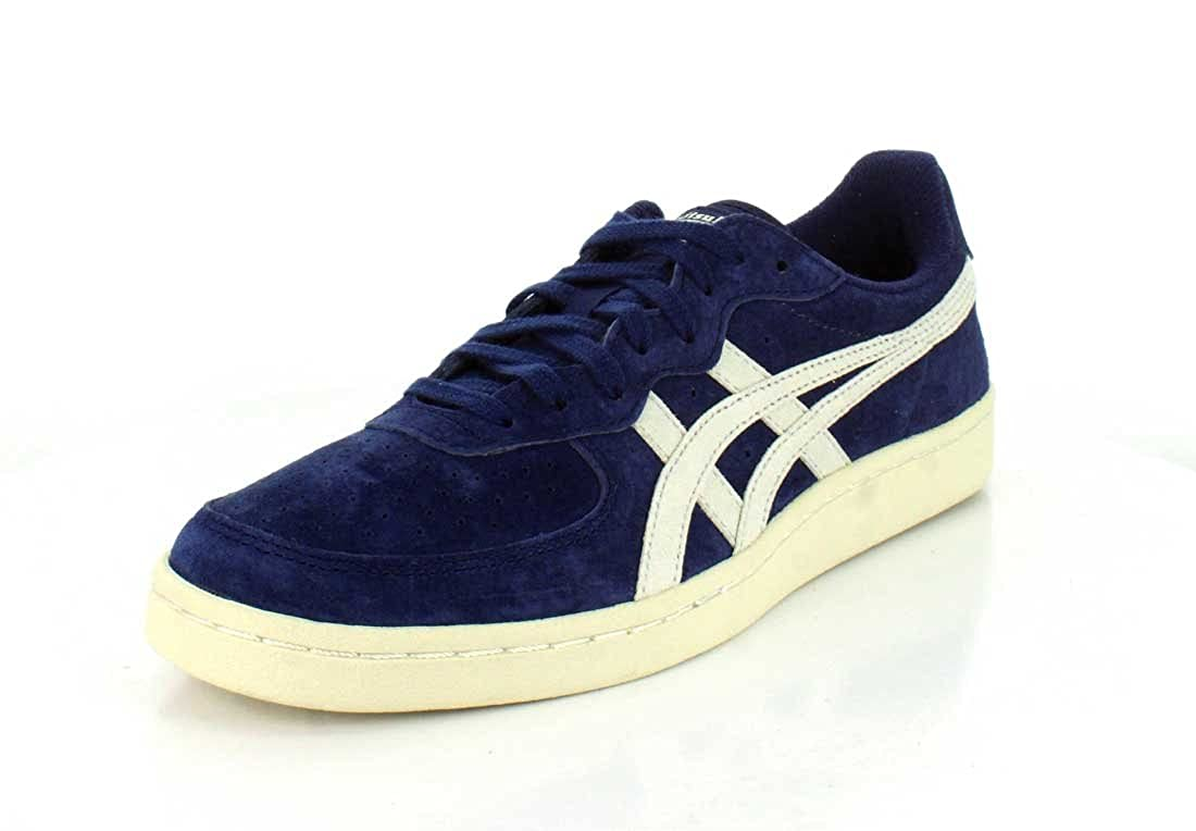 competitive price a86f1 5cb95 Amazon.com | Onitsuka Tiger GSM Mens Blue Suede Lace Up ...