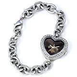 NFL Women's FH-NO Heart Collection New Orleans Saints Watch