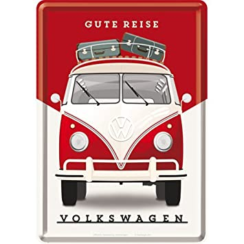 Amazon De Nostalgic Art 10301 Volkswagen Vw Bulli Gute Reise