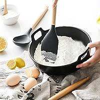 mreechan Utensilios de Cocina de Silicona, Kit de Cocina Resistente al Calor, Antiadherente/fácil de Limpiar/bisfenol A aplicable a ollas y sartenes ...