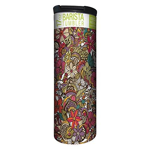 Flower Travel Mug - 1