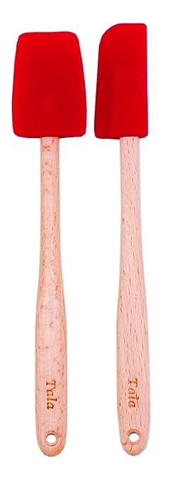 5 opinioni per GEH Ltd- Set di 2 leccapentole Tala in silicone, con manico in legno