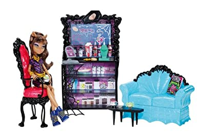 Monster High Coffin Bean And Clawdeen Wolf Doll Playset from Mattel