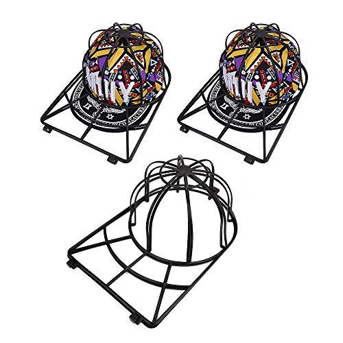 Baseball Hat Washer,3pcs Cap Washer Frame/Washing Cage,White Cap Hat Visors Shaper,Ball Cap Sport Hat Cleaner/Rack,Cap Holder,Hat Hanger,Cap Shape Protector,Cap Organizer,Safe for Dishwasher (3 Pack) ()