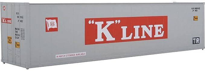 Amazon com: Walthers SceneMaster Hi Cube Smooth Side K-Line