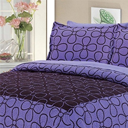 Dovedote Dovedote Cotton Daisy Dream Bedspread with Matching Sheet Set,