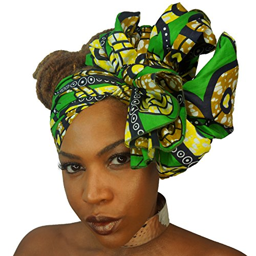 Urban Turbanista Extra African Headwrap