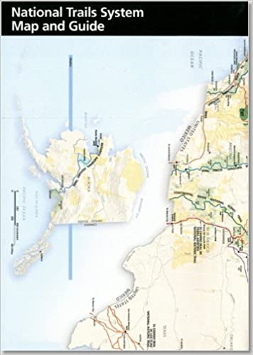 National Trails System Map and Guide, 2010: Package of 100 ...