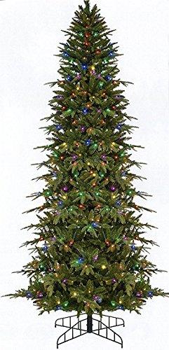 Bethlehem Lighting 9 Pre Lit Slim Palisade Artificial Christmas Tree Multi Color Led Lights