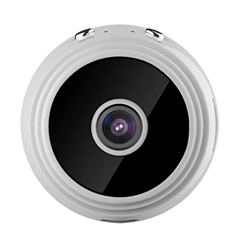 Waroomss Mini Cámara, A9, HD Cámara de Visión Nocturna 1080p Smart Monitor WiFi Mini