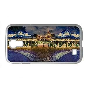 Disneyland Winter Holidays Watercolor style Cover Samsung Galaxy S4 I9500 Case (California Watercolor style Cover Samsung Galaxy S4 I9500 Case)