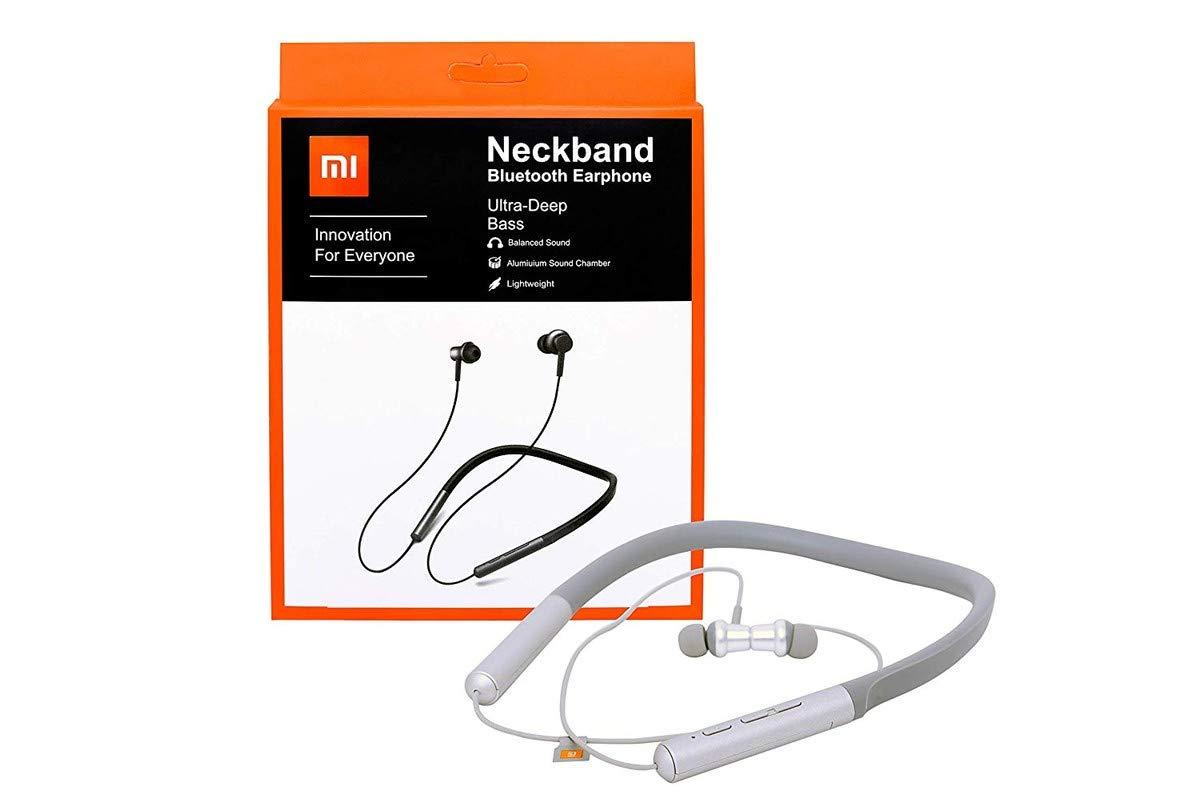 Mi Wireless Bluetooth Neckband Earbuds Headphone Amazon In Electronics